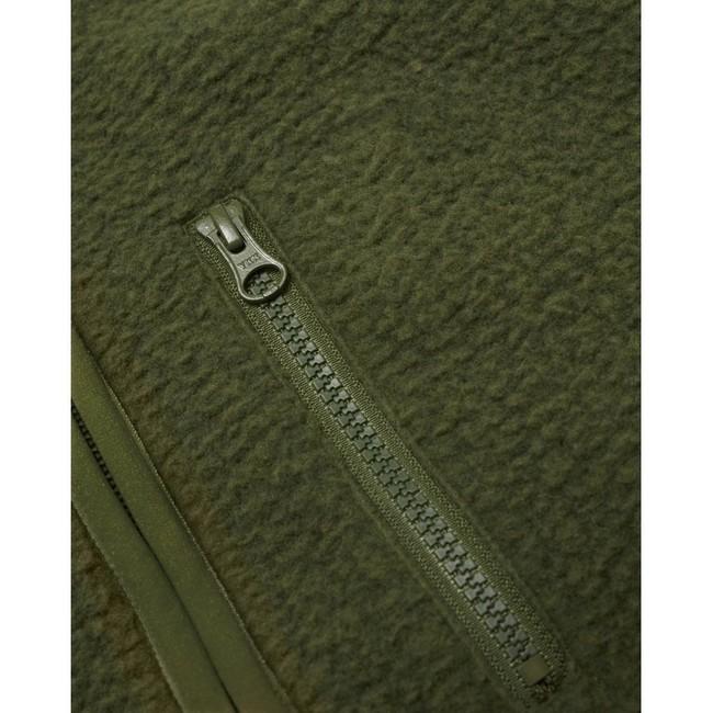 Veste polaire sans manches verte en polyester recyclé - Knowledge Cotton Apparel num 3