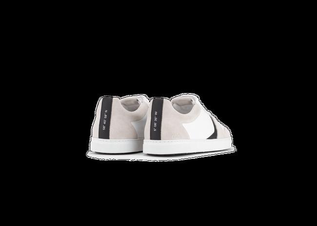 Chaussure en glencoe cuir blanc / suède off-white - Oth num 2