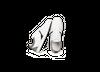 Chaussure en glencoe cuir blanc / suède gris clair - Oth - 2