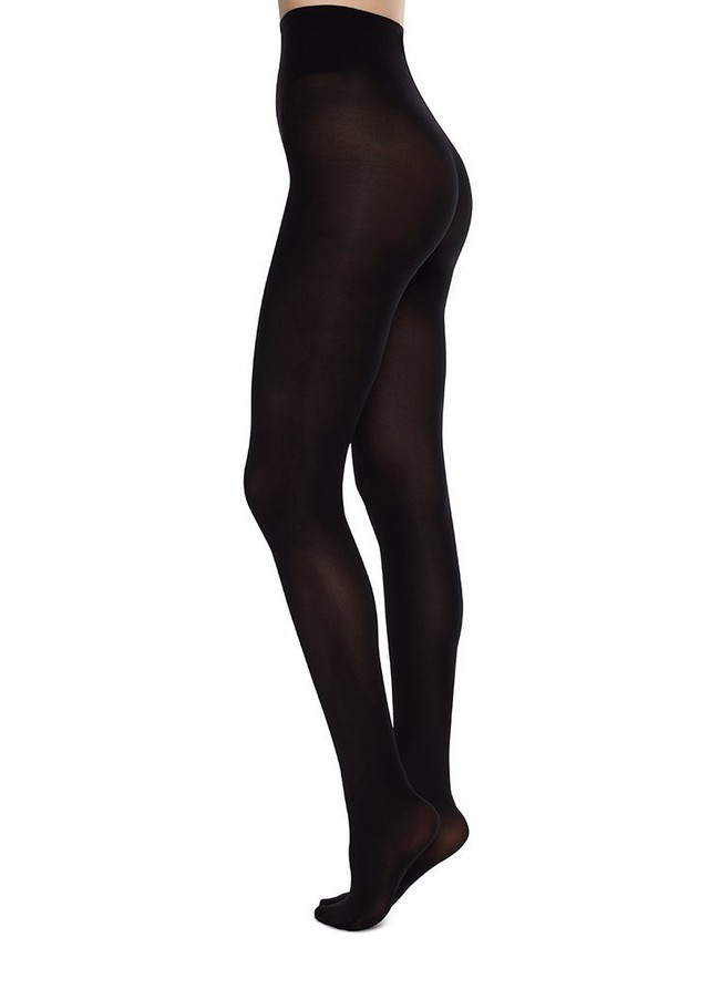 Collants 60 deniers noirs recyclés - olivia - Swedish Stockings