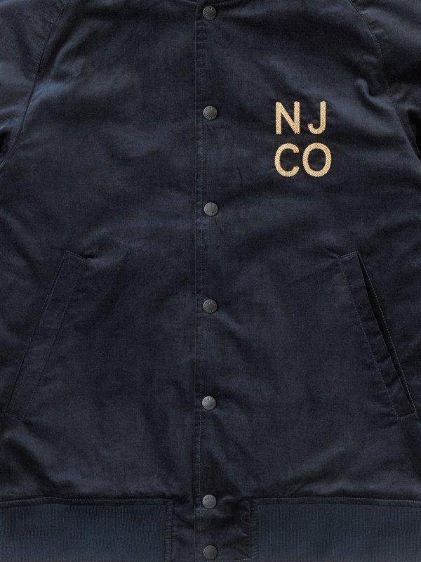 Veste bomber marine en coton bio - mark - Nudie Jeans num 6