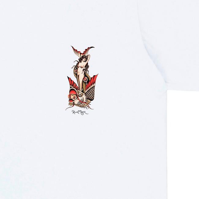 T-shirt en coton bio white mermaid - Bask in the Sun num 2