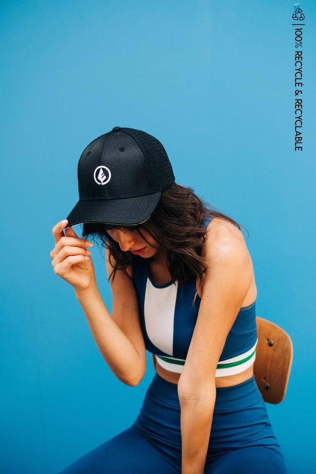 Wild cap - casquette technique recyclée [black] - Nosc
