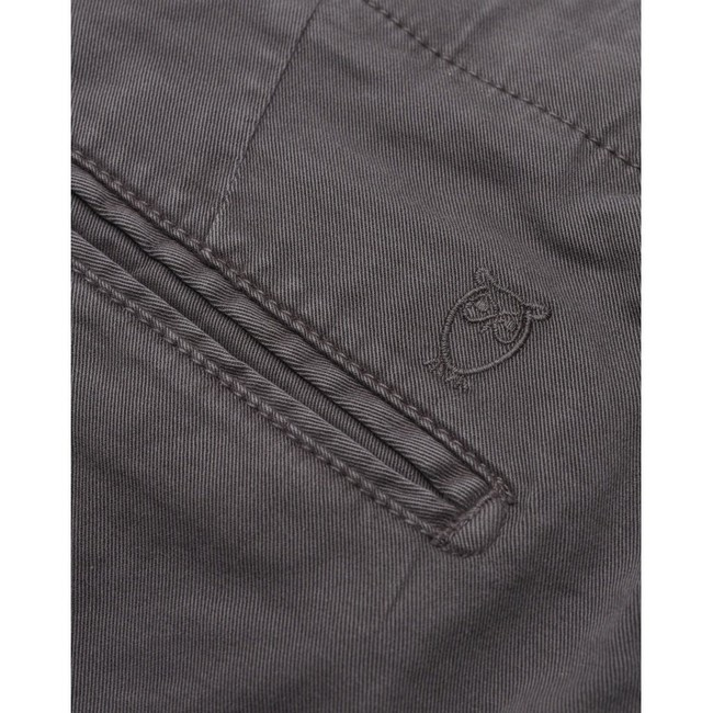 Chino slim gris en coton bio - joe - Knowledge Cotton Apparel num 3