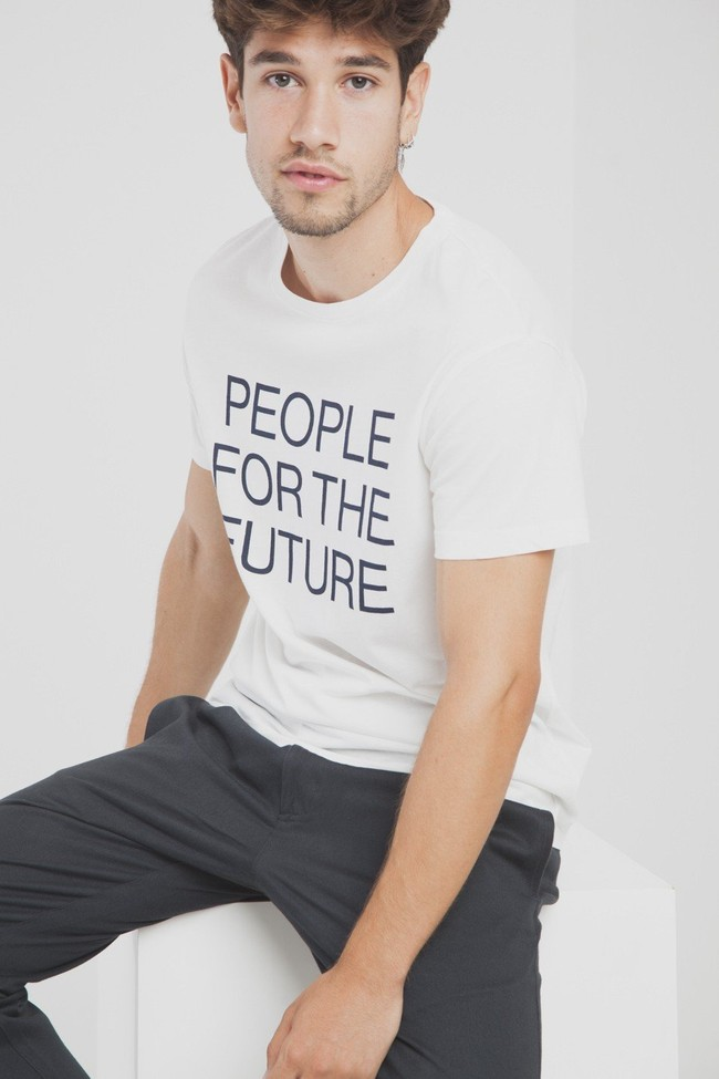 T-shirt en coton bio people for the future - Thinking Mu num 4