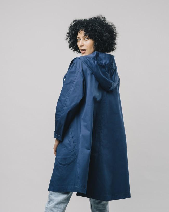Hooded parka blue - Brava Fabrics num 4
