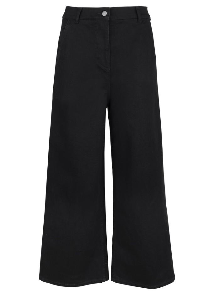 Pantalon ample noir en coton bio - rochelle - People Tree num 3