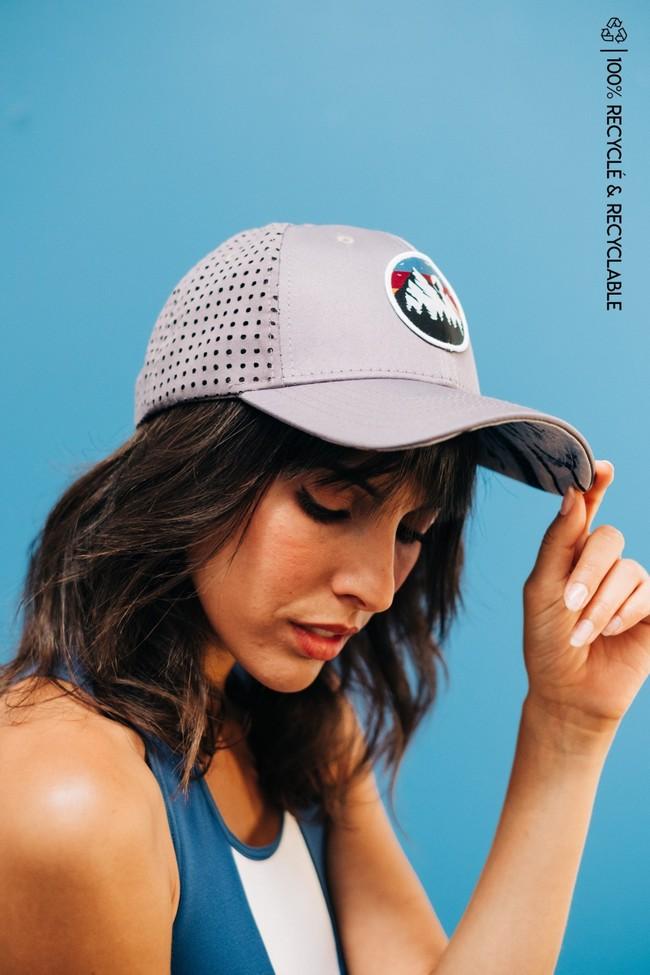 Wild cap - casquette technique recyclée [grey] - Nosc
