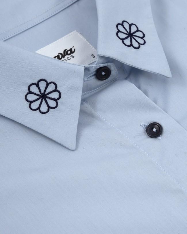 Tile essential oversized blouse - Brava Fabrics num 2