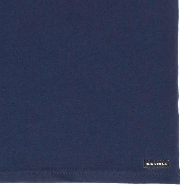 T-shirt en coton bio navy dorado - Bask in the Sun num 3
