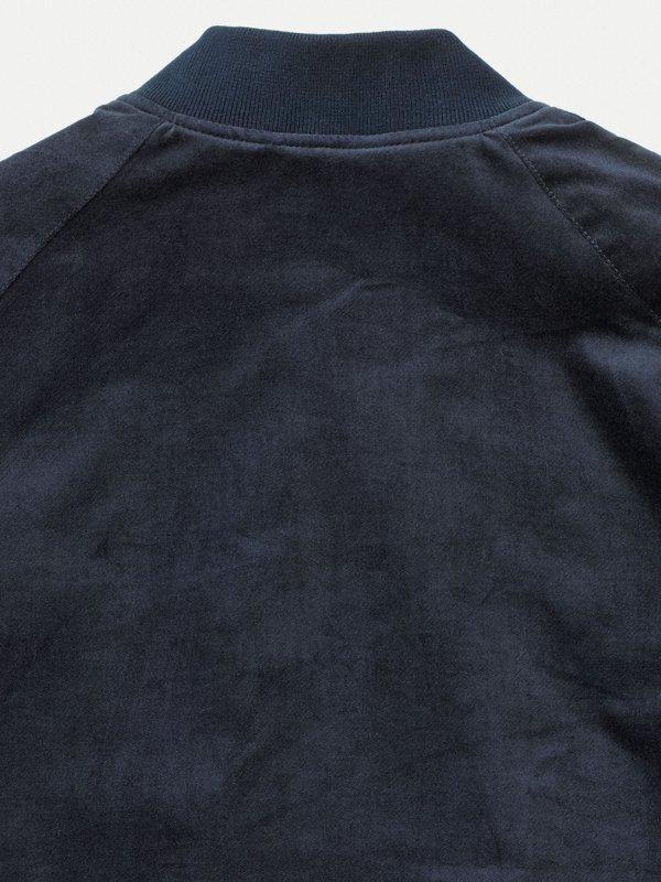 Veste bomber marine en coton bio - mark - Nudie Jeans num 4