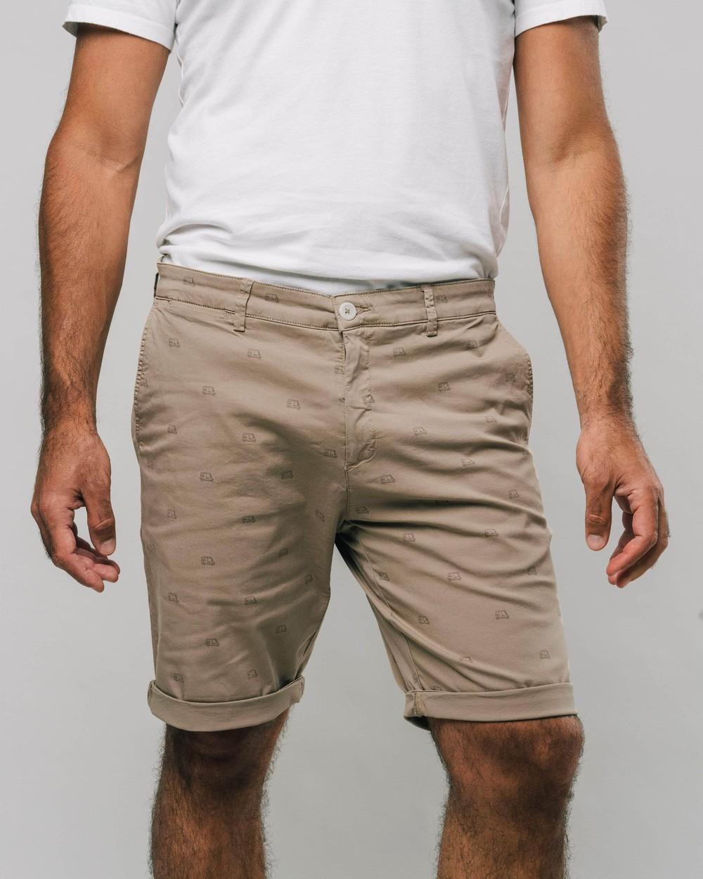 Tuk tuk race printed shorts - Brava Fabrics