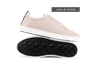 Chaussure en gravière cuir nude / semelle blanc - Oth - 1