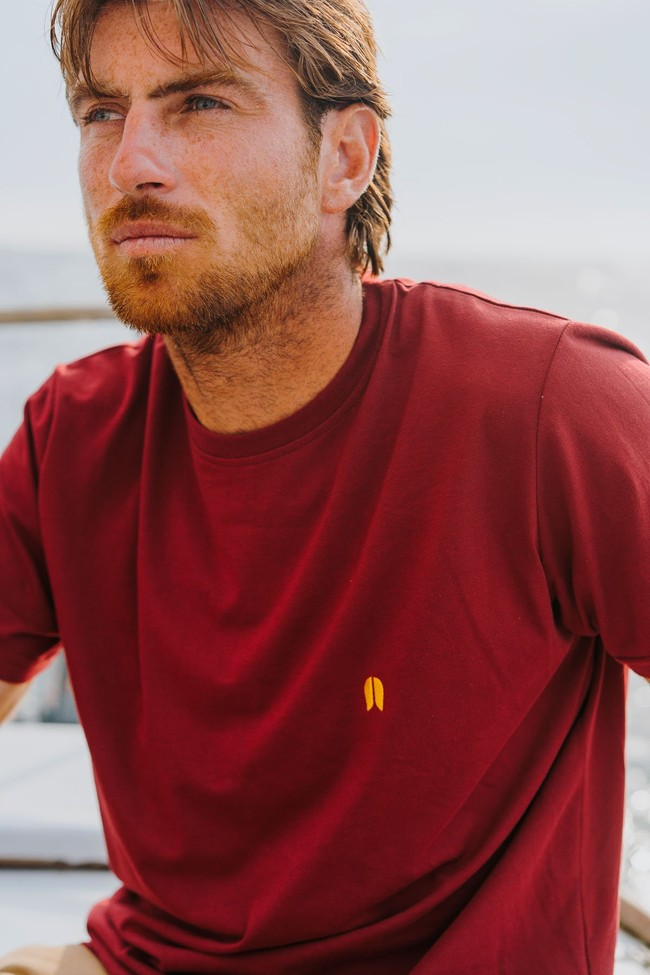 T-shirt recyclé - classique red - Hopaal num 1