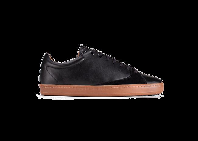 Chaussure en gravière cuir noir / semelle miel - Oth num 3