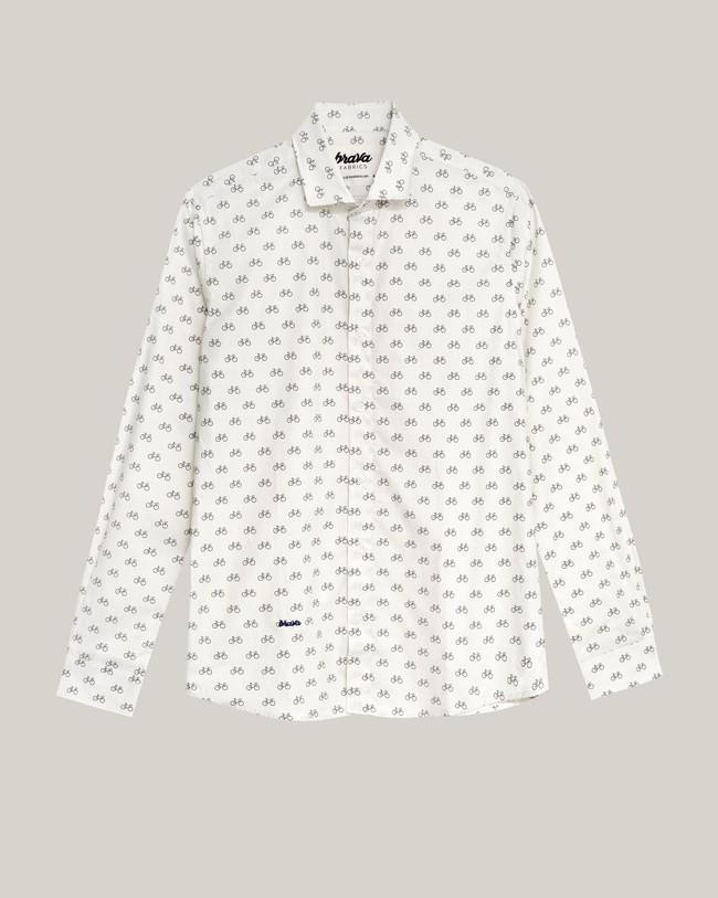 Fixed gear rider printed shirt - Brava Fabrics num 2
