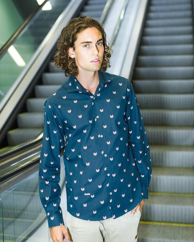 Fox in the snow shirt - Brava Fabrics num 6