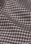 Pantalon à carreaux marron en tencel - varmaa microcheck - Armedangels - 7