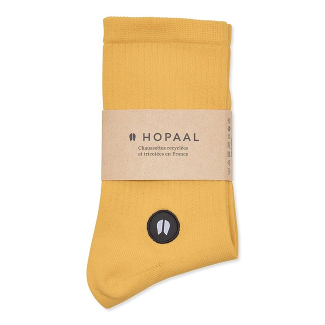 Chaussettes recyclées - field sun - Hopaal