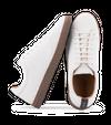 Chaussure en gravière suède off-white / semelle cappuccino - Oth - 1