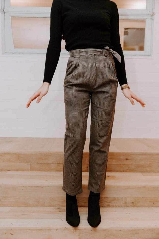 Pantalon krabe tweed - Les Récupérables num 3