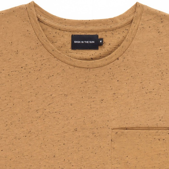 T-shirt en coton bio brown pantxoa - Bask in the Sun num 1