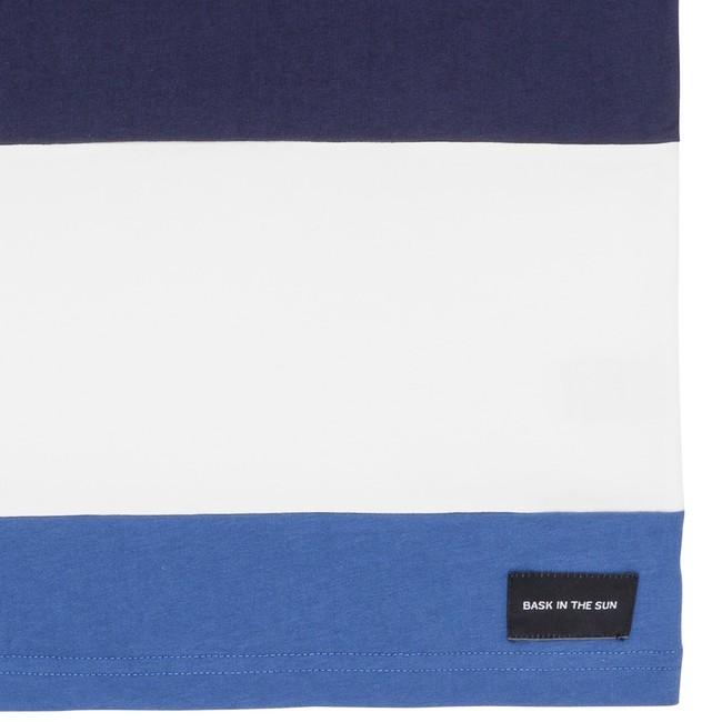 T-shirt en coton bio navy cenitz - Bask in the Sun num 3