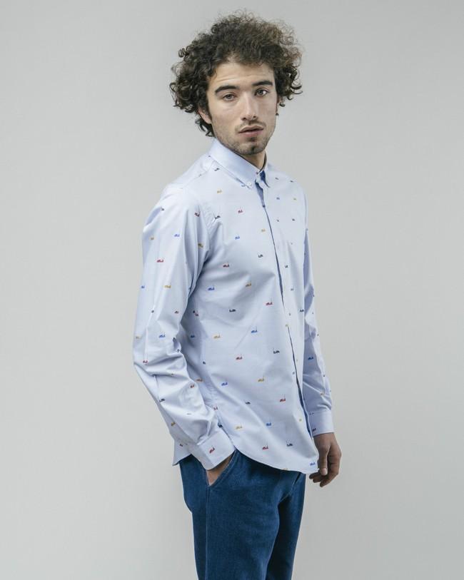 Autoscooter essential shirt - Brava Fabrics