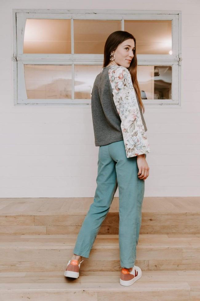 Pantalon krabe blue velvet - Les Récupérables num 3