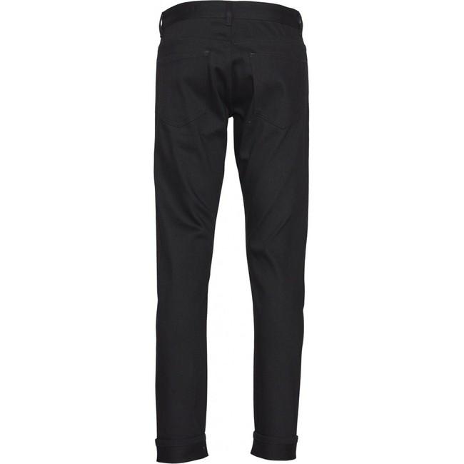 Jean slim noir selvage en coton bio - Knowledge Cotton Apparel num 1