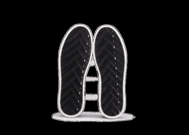 Chaussure en glencoe cuir blanc / suède bluette - Oth num 4