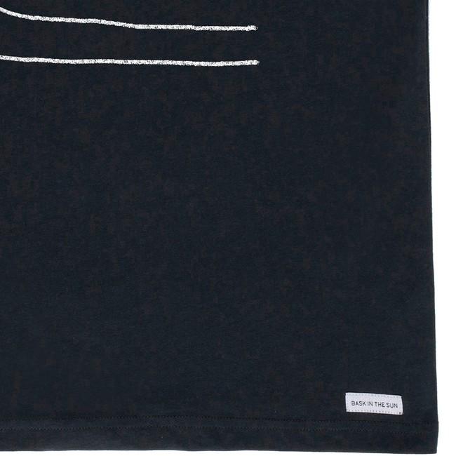 T-shirt en coton bio black swell - Bask in the Sun num 3