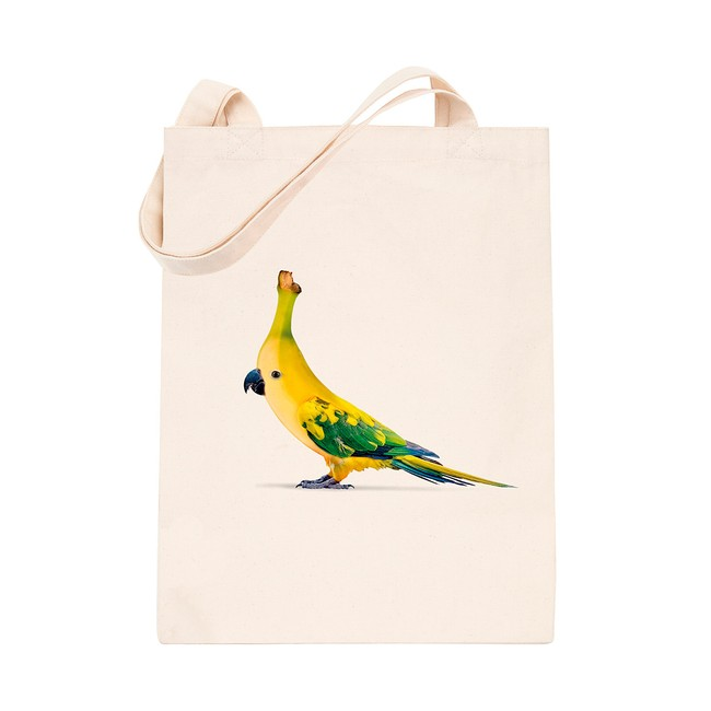 en coton bio white banana bird - Bask in the Sun