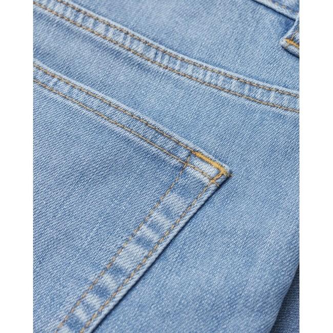 Short en jean bleu en coton bio - birch - Knowledge Cotton Apparel num 2