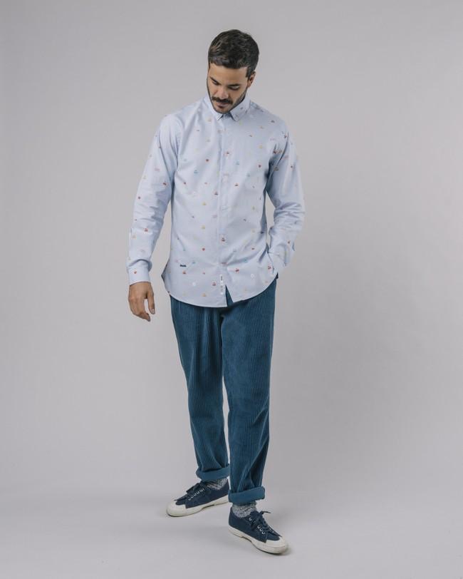 Oxford-shirt pac-man™ x brava - Brava Fabrics num 3