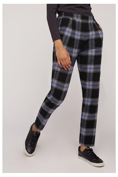 Pantalon carreaux en coton bio - reiko - People Tree num 1