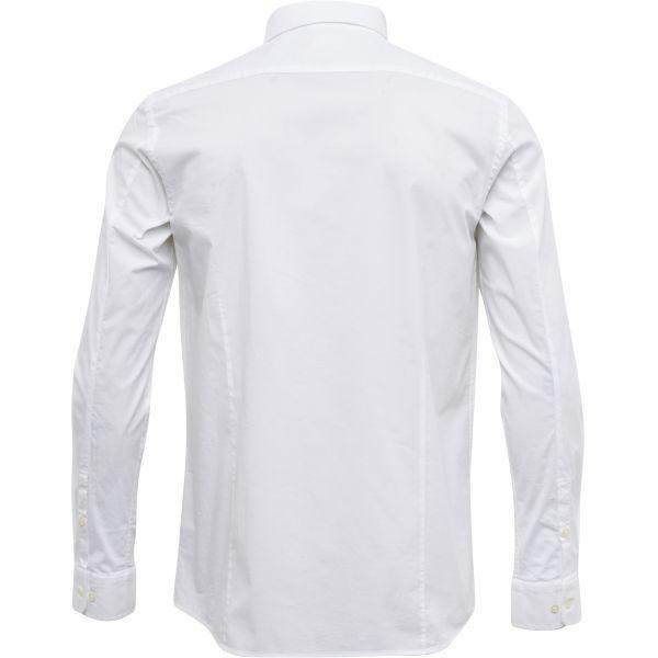 Chemise blanche en coton bio - Knowledge Cotton Apparel num 1