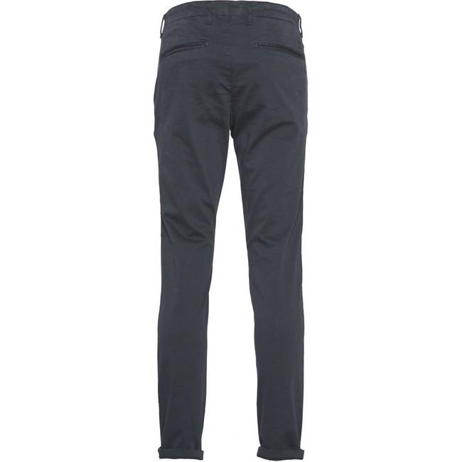 Chino slim bleu nuit en coton bio - joe - Knowledge Cotton Apparel num 1