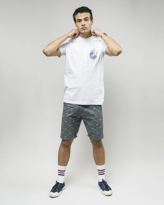 Japanese wave t-shirt - Brava Fabrics num 2