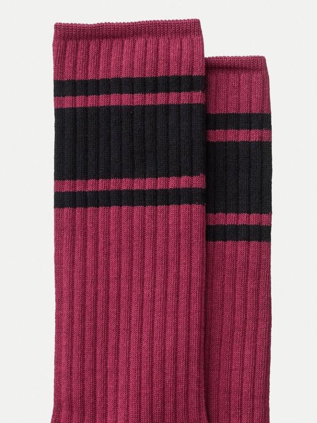 Chaussettes hautes figues en coton bio - amundsson sport - Nudie Jeans num 1