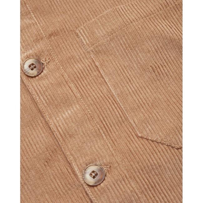 Veste velours beige en coton bio - Knowledge Cotton Apparel num 3