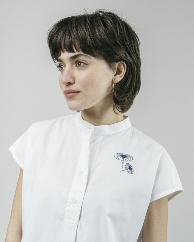 The osaka parasol essential blouse - Brava Fabrics num 4