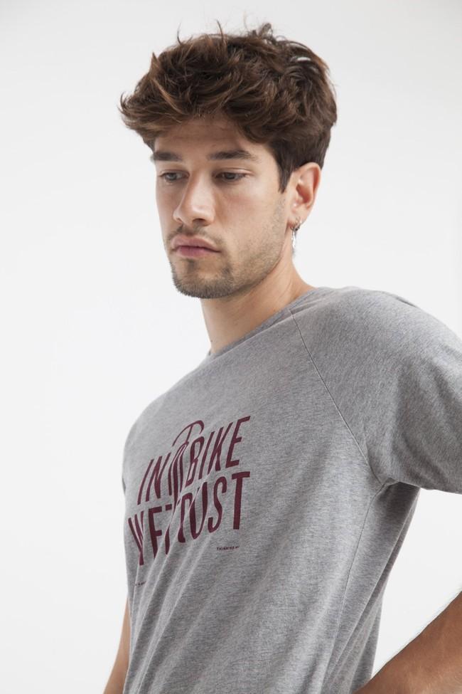 T-shirt en coton bio in bike we trust - Thinking Mu num 2