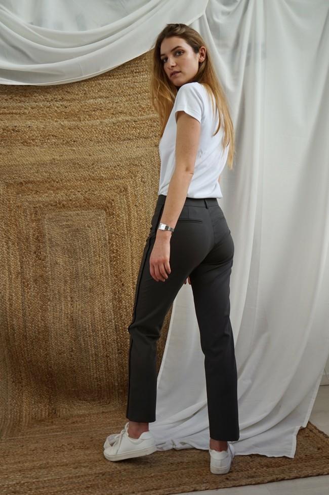 Pantalon tailleur new-york taupe - 17h10