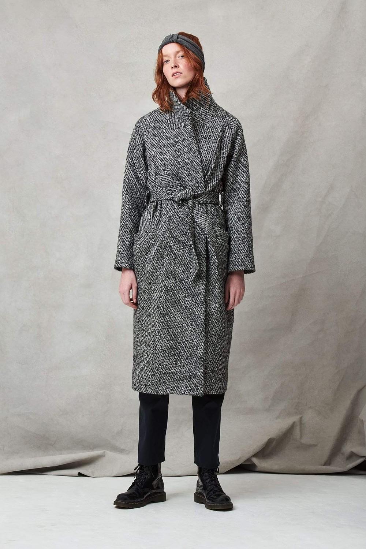 Manteau long écosse - Les Récupérables