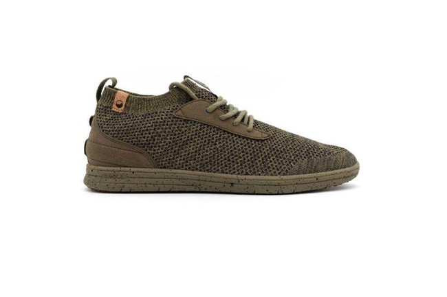 Chaussures recyclées mindo burnt olive - Saola num 3