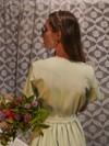 Robe courte menthe - Maison Alfa - 4