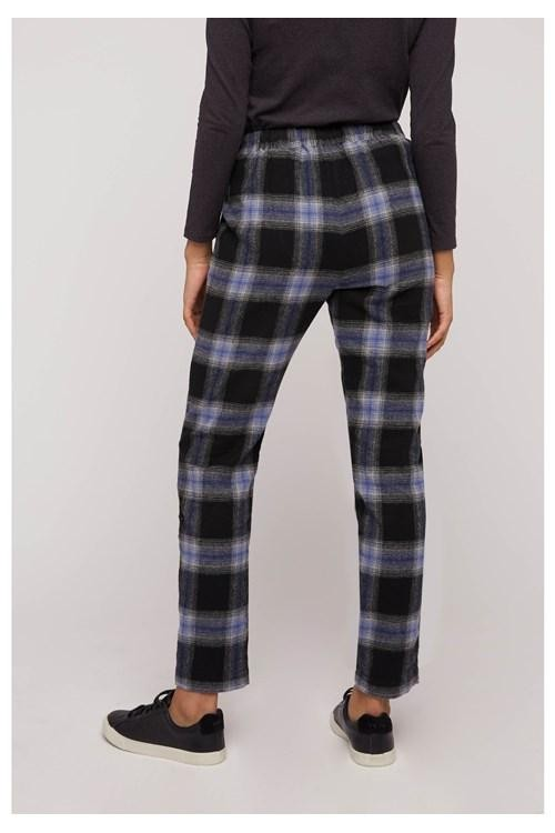 Pantalon carreaux en coton bio - reiko - People Tree num 5