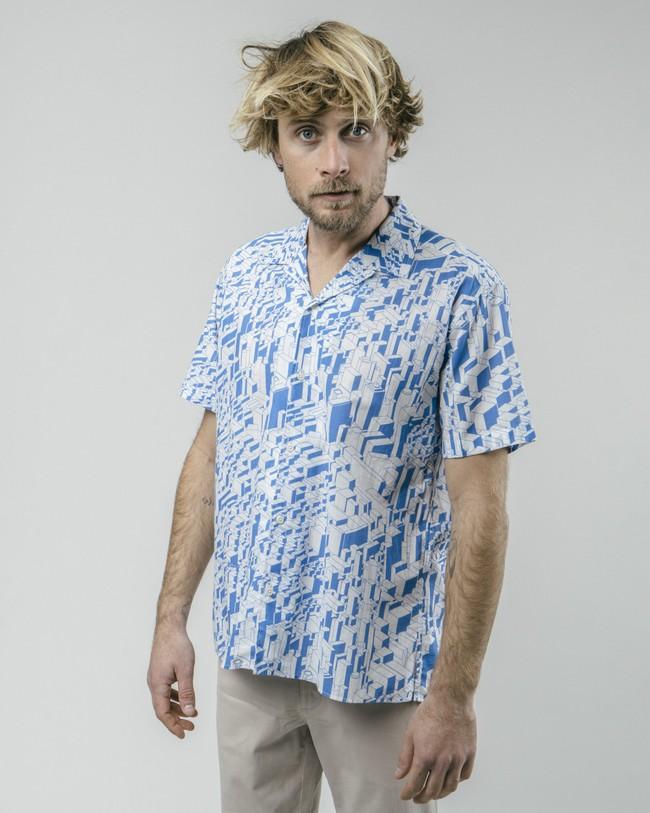 Urban district aloha shirt - Brava Fabrics