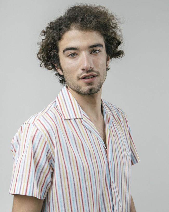 Downtown stripes aloha shirt - Brava Fabrics num 4